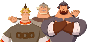 картинки анимация богатыри